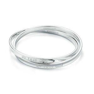 Tiffany & Co 1837 Interlocking Circles Bangle
